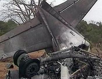 Пассажирский самолет Ан-24 разбился в районе аэропорта города Игарки. Фото с сайта aif.ru