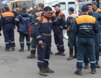 На шахте «Чертинская» в Кемеровской области погибли два пожарных. Фото с сайта fwnews.ru