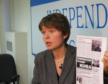 Евгению Чирикову задержал подмосковный ОМОН. Фото с сайта ecmo.ru