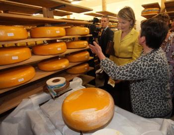 Министерства Белорусии предложили маслосыродельным заводам принять участие в сырном фестивале.Фото:Getty.