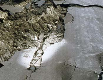 Провал грунта произошел на юго-востоке Москвы. Фото с сайта gazeta.a42.ru