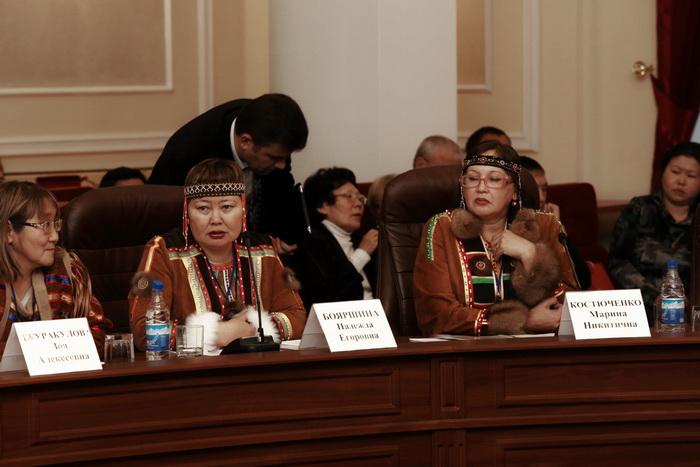 II съезд коренных малочисленных северных народов прошёл в Иркутске. Фото: Николай Ошкай/Великая Эпоха (The Epoch Times)