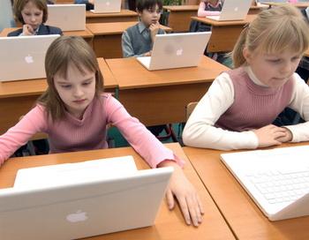 Компьютерный класс. Фото из архива РИА Новости
