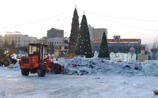 Каток в Улан Удэ: ЧП вместо праздника в ледовом городке. Фото с сайта rus.ruvr.ru