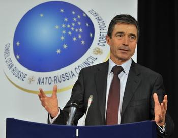 В Москву прибывает Генеральный секретарь НАТО. Фото: GEORGES GOBET/AFP/Getty Images