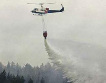 На Висимский заповедник сброшено  150 тонн воды. Фото с сайта 7kanal.com