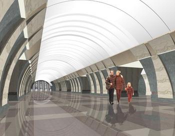В Москве открылись две новые станции метро «Марьина Роща» и «Достоевская». Фото с сайта arhmetro.ru