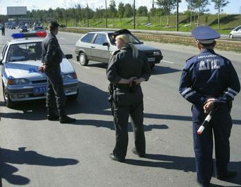 В Минусинске задержаны высокопоставленные сотрудники ГИБДД. Фото с сайта forum.dpni.org