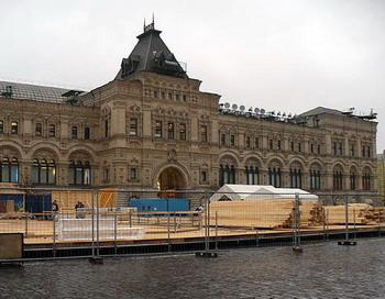 Обрушился каток на красной площади. Фото с сайта xiron.ru