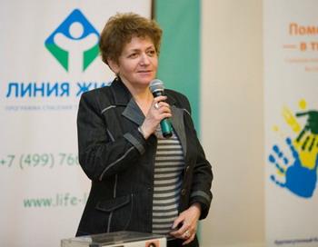 Раиса Беспечная, глава фонда АРТ, погибла в Москве. Фото с сайта life-line.ru