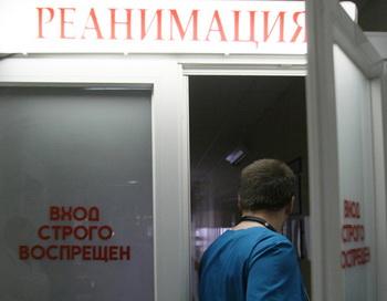 Палата реанимации. Фото РИА Новости
