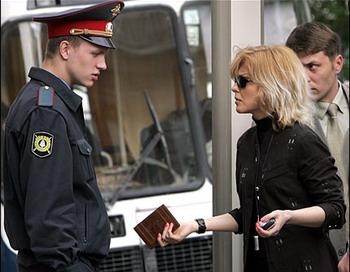 Инна Ходарковская не верит в то, что ее мужа оправдают.  Фото с сайта kasparov.ru