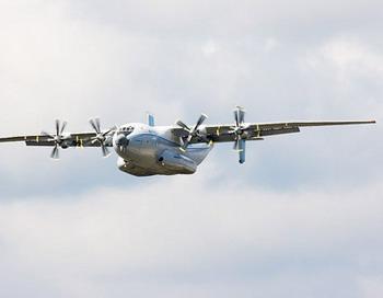 АН-22 «Антей» разбился в Тульской области - погибли 12 военных летчиков. Фото с сайта interesting.crazys.info