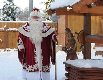 Московская усадьба Деда Мороза небезопасна, с точки зрения  пожнадзора. Фото с сайта blogs.mail.ru