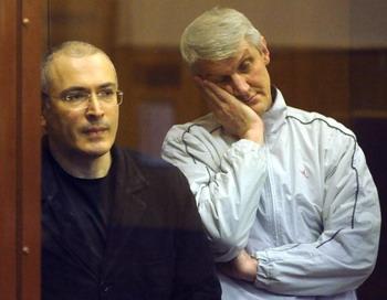 В чем вина Михаила Ходорковского и Платона Лебедева? Фото: ALEXANDER NEMENOV/AFP/Getty Images