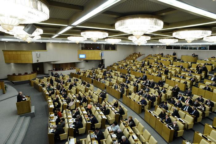 Госдума РФ. Фото: NATALIA KOLESNIKOVA/AFP/GettyImages