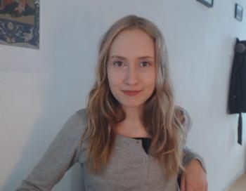 Илона из Финляндии, 23 года, одна из 78 000 человек, которые подали заявки для того, чтобы отправиться на Марс. Фото: Mars One