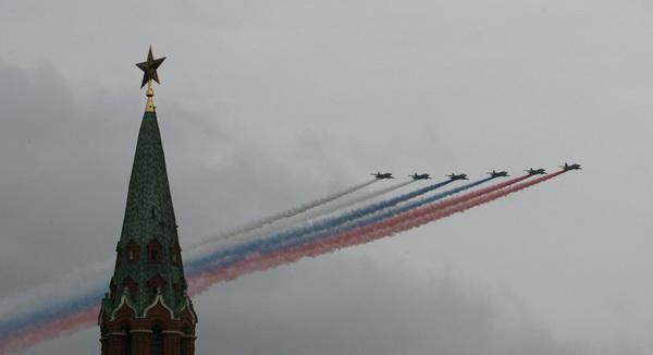 Москва в дыму. Фотообзор. Фото: Alexey SAZONOV/AFP/Getty Images