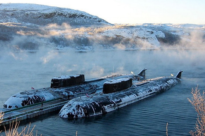 В России будет работать система базирования атомных подводных лодок. Фото с сайта telegrafist.org