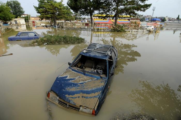 Последствия наводнения на Кубани. Фото:  MIKHAIL MORDASOV/AFP/GettyImages