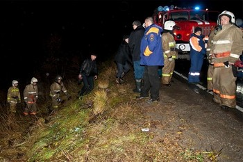Разбился вертолёт Ми-8  на Сахалине. Фото с сайта newsru.com sakhalin.info