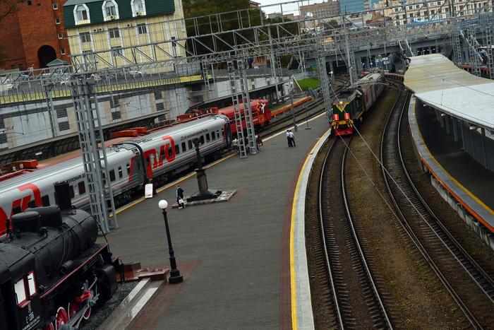 Железнодорожный вокзал Владивостока. Фото: SAEED KHAN/AFP/GettyImages