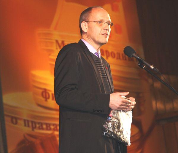 Чрезвычайный и Полномочный Посол Королевства Нидерландов в РФ Роналд Келлер с приветственной речью на открытии фестиваля