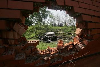 Илез Гарданов, главарь  ингушских боевиков, уничтожен. Фото: KAZBEK BASAYEV/AFP/Getty Images