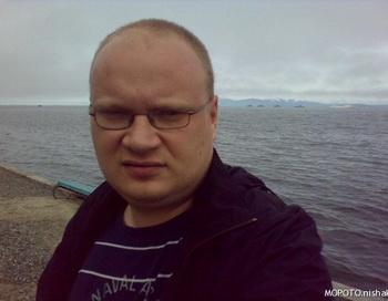 Журналист Олег Кашин подвергся нападению. Фото с сайта livejournal.com.