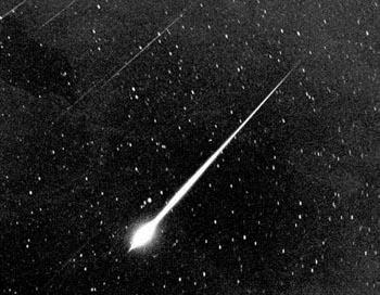 Метеоритный поток Геминиды. Фото: AFPGatty ImagesHandout