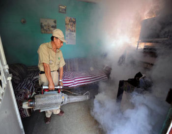 Травля клопов Фото: AFP/Gatty Images/JOHAN ORDONEZ