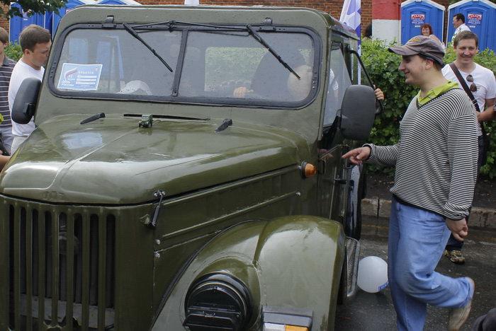 Выставка ретро-автомобилей. Фото: Николай Карпов/Великая Эпоха (The Epoch Times)