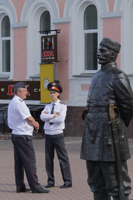Стражи порядка. Фото: Николай Карпов/Великая Эпоха (The Epoch Times)