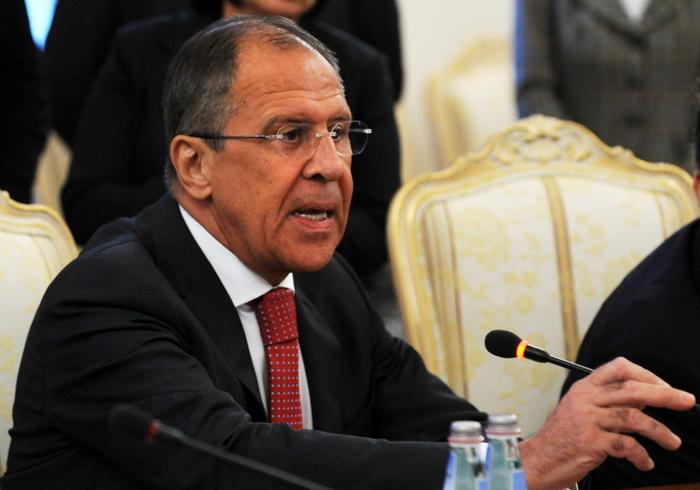 Министр иностранных дел РФ Сергей Лавров. Фото: YURI KADOBNOV/AFP/Getty Images