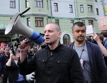 Марш миллионов.Сергей Удальцов.Фото: Andrey Smirnov/AFP/Getty Images