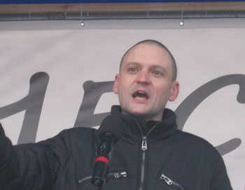 Сергей Удальцов . Фото с сайта ru.wikipedia jrg