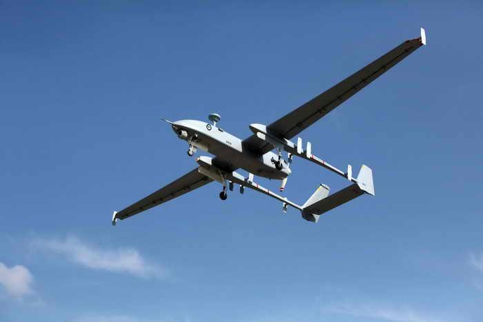 Беспилотный летательный аппарат произведённый в Израиле. Фото: Israel Aerospace Industries via Getty Images