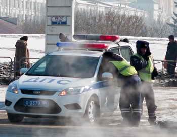 Автомобили ГИБДД оснастят видеокамерами.  Фото: VALERY TITIEVSKY/AFP/Getty Images