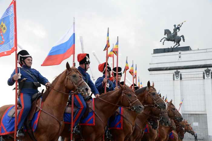 Казаки. Фото: NATALIA KOLESNIKOVA/AFP/GettyImages