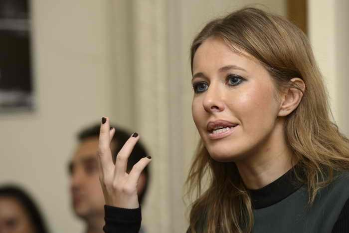 Ксении Собчак отказали в аккредитации на Петербургский экономический форум. Фото: Ben Pruchnie/Getty Images