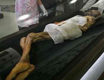 Мумия «Скифской принцессы» находится в прекрасном состоянии. Фото с сайта 2cafe.net