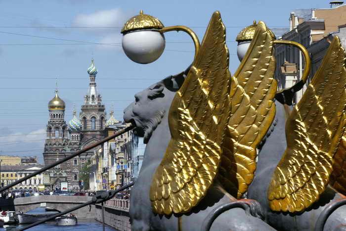 Санкт-Петербург. Фото: MLADEN ANTONOV/AFP/Getty Images