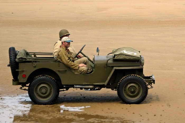 В Красную армию с лета 1942 года и до конца войны поступили 52 тысячи «Виллисов