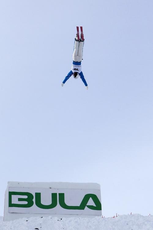Россиянка Вероника Корсунова выиграла медаль на Чемпионате мира по фристайлу. Фото:  Alexis Boichard/Agence Zoom/Getty Images
