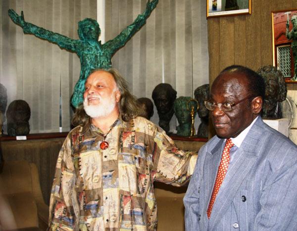 Вечер посетили Чрезвычайный и Полномочный Посол Ганы в РФ доктор Сет Карантен. Фото: Ульяна Ким/Великая Эпоха