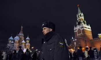 Мы хотим, чтобы наша милиция была честной, добропорядочной, вежливой и профессиональной. Фото:   DMITRY KOSTYUKOV/AFP/Getty Images