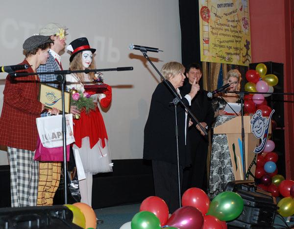 Награждение актрисы Ольги Аросевой. Фото: Юлия Цигун/Великая Эпоха (The Epoch Times)