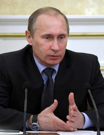 Премьер-министр России Владимир Путин. Фото: ALEXEY NIKOLSKY/AFP/Getty Images