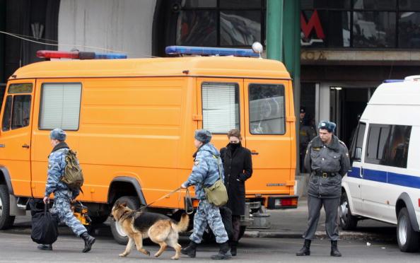 Теракты в московском метро. Фоторепортаж. Фото: AFP/Getty Images