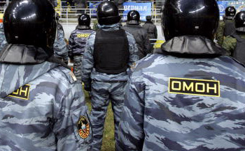 «Приморские партизаны» ударили по имиджу МВД. Фото: Dima Korotayev/Getty Images